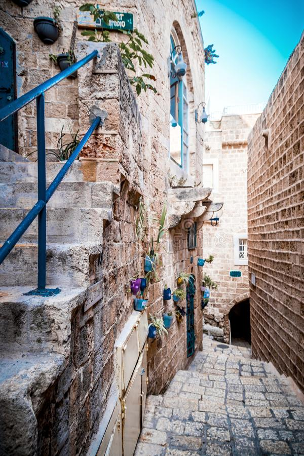 The old city of Jaffa, Israel royalty free stock photos