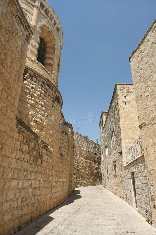 The old city of Jerusalem stock photography