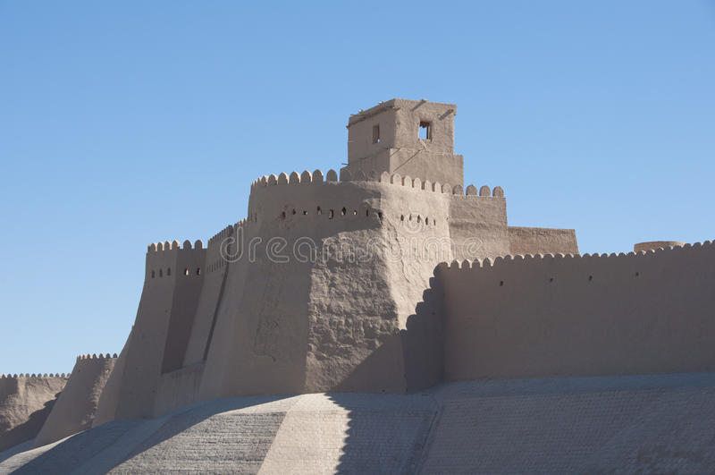 Old city of Khiva stock photos