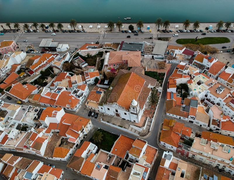 Old city Lagos, Portugal stock images