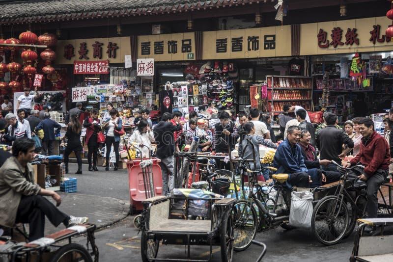 Old City markets, Shanghai royalty free stock photography