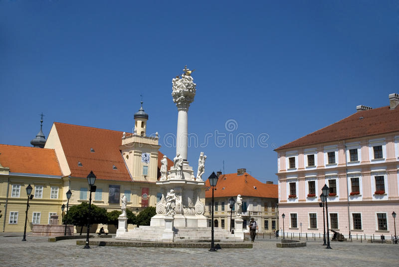 Old city, Osijek, Croatia stock image