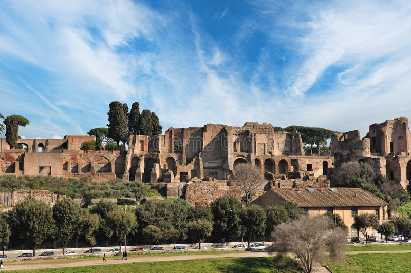 Download Old city of Rome stock photo. Image of grass, forum, roman - 13981782
