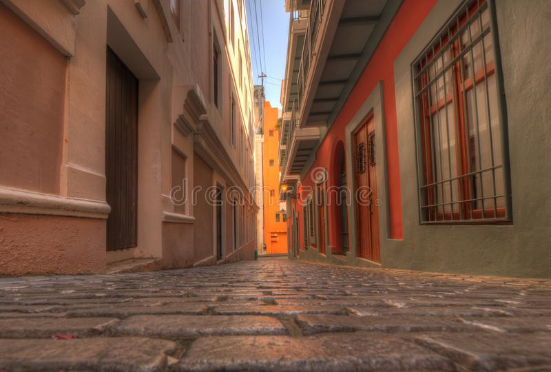 Old City of San Juan stock image
