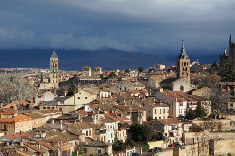 Old city of Segovia Spain stock image Image of segovia 49660053