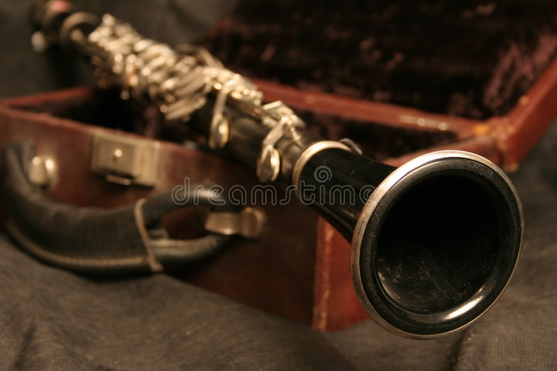 Old Clarinet Stock Images