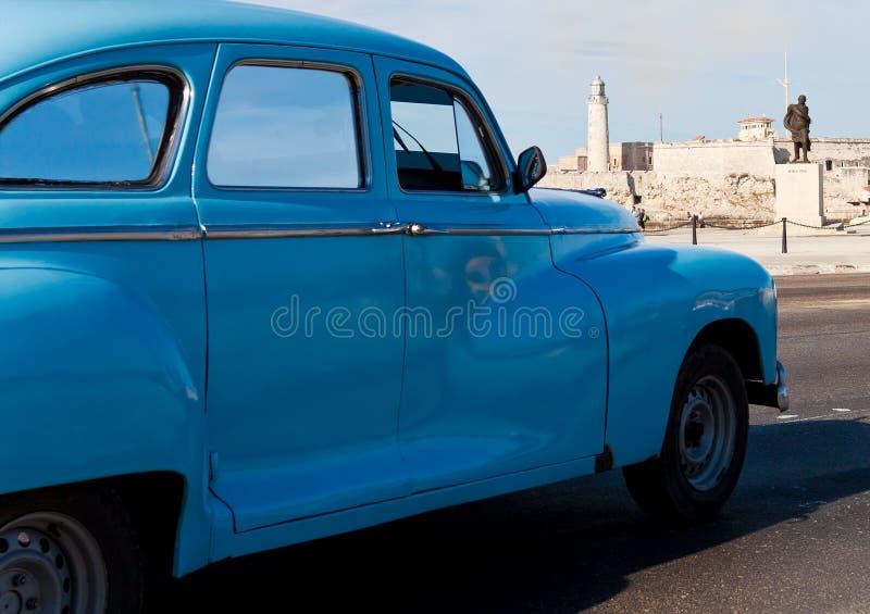 Old Classic American Car In Havana Editorial Image