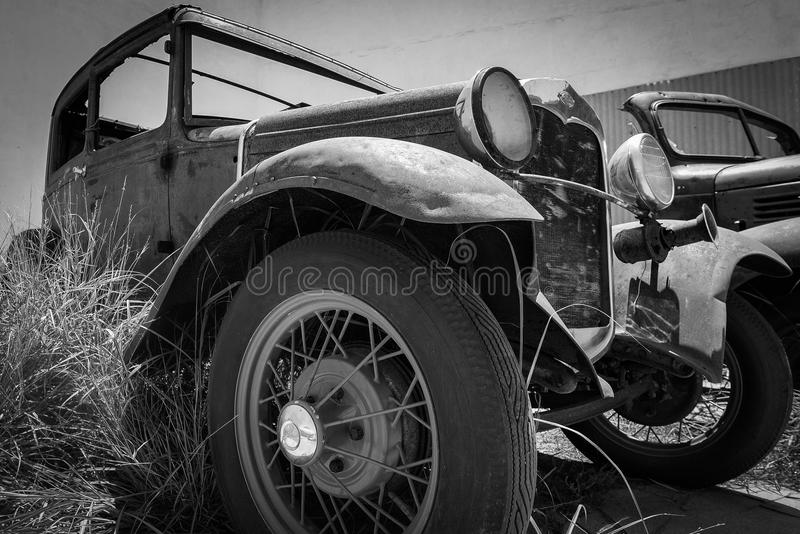 Old Classic Car royalty free stock images