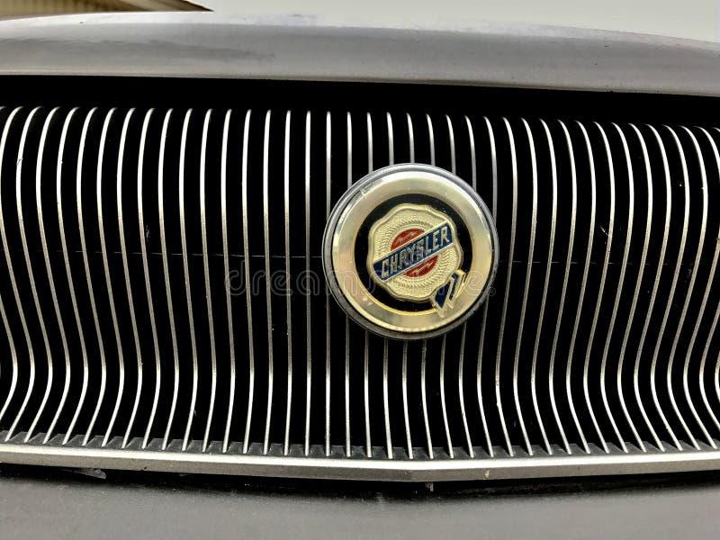Old Classic Chrysler Gray 1997 Free Public Domain Cc0 Image
