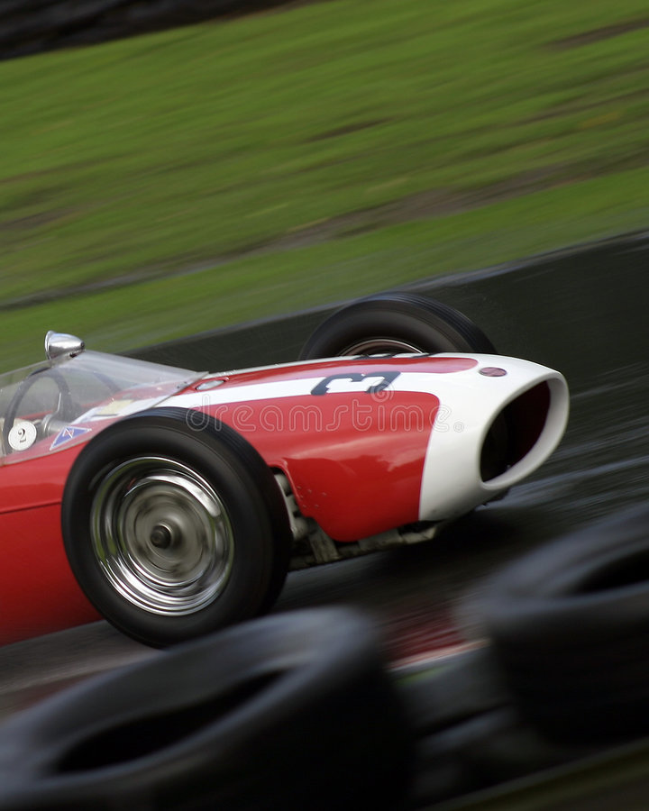 Old Classic F1 royalty free stock images