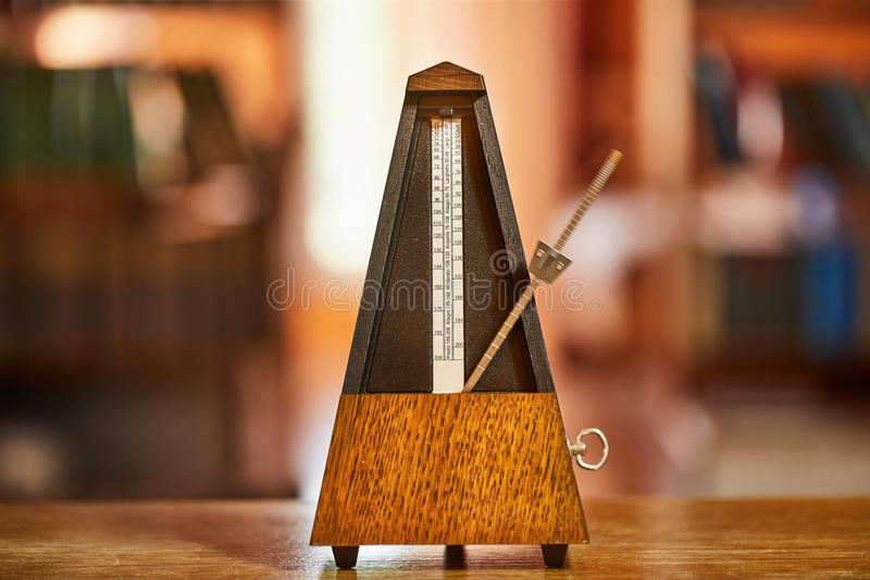 Old Classic Metronome stock images