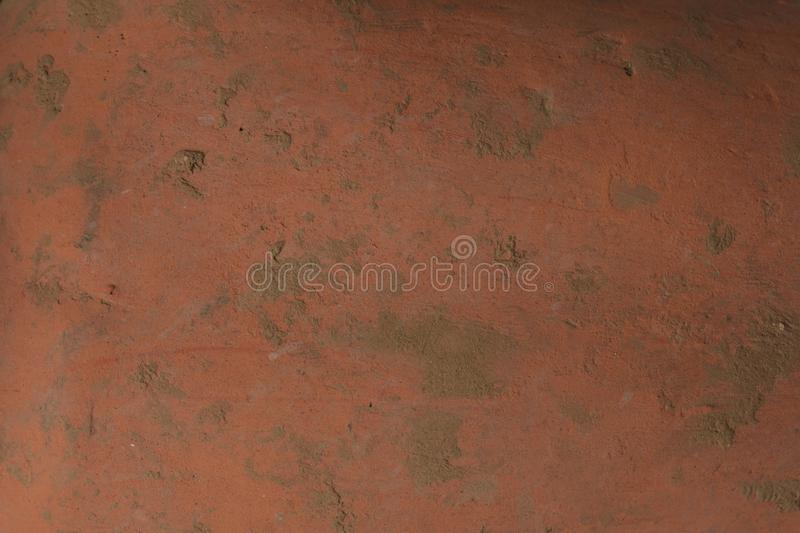 Old clay pot texture stock image