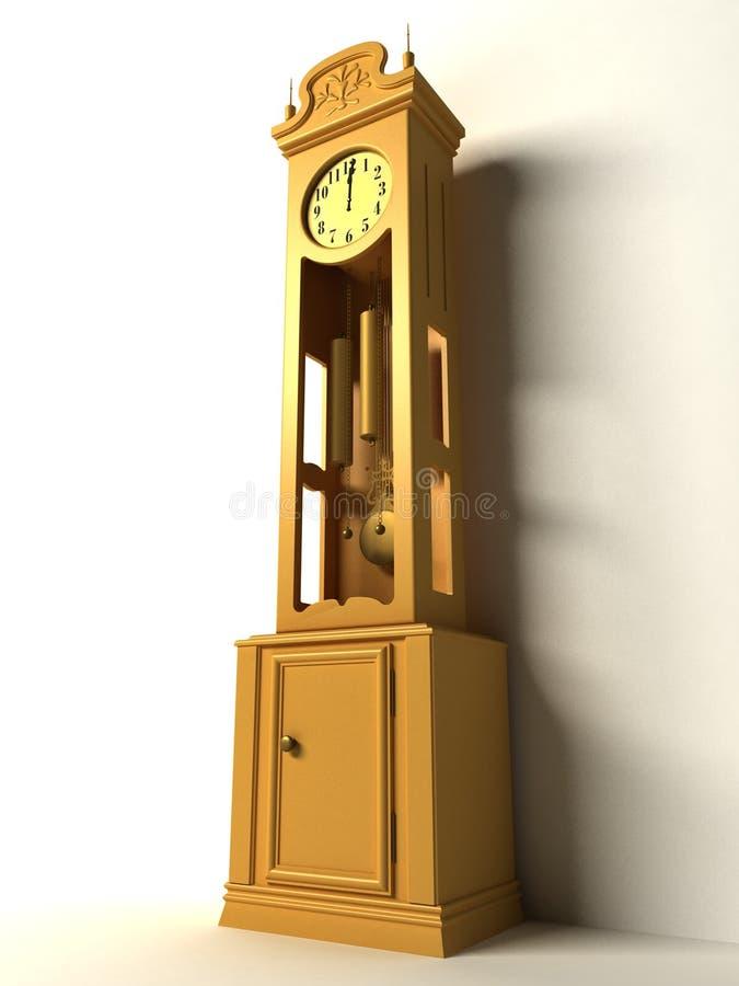 Old clock royalty free illustration