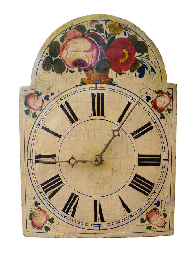 Free Old Clock Detail Stock Photography - 58084642