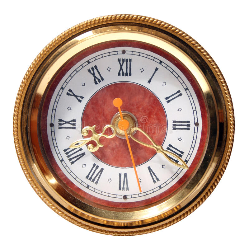 Old clock-face stock photography