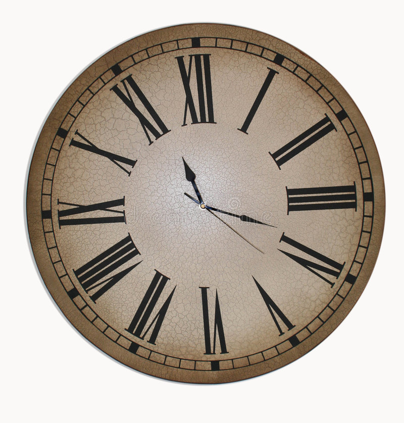 Old Clock Face royalty free stock photography