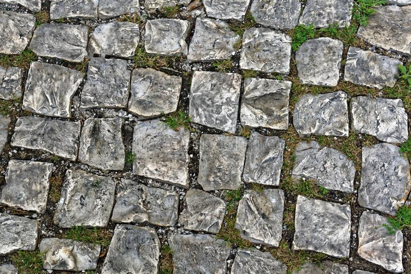 Old Cobble Stones stock image
