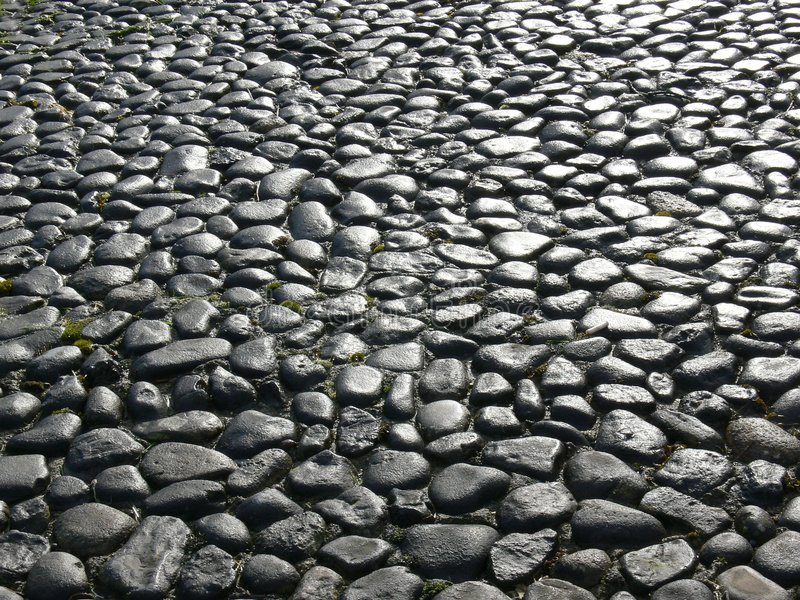Download Old Cobbles stock photo. Image of cobbles, surface, cobblestones - 1943182