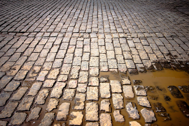 Download Old cobblestone street stock image. Image of abstract - 24508155