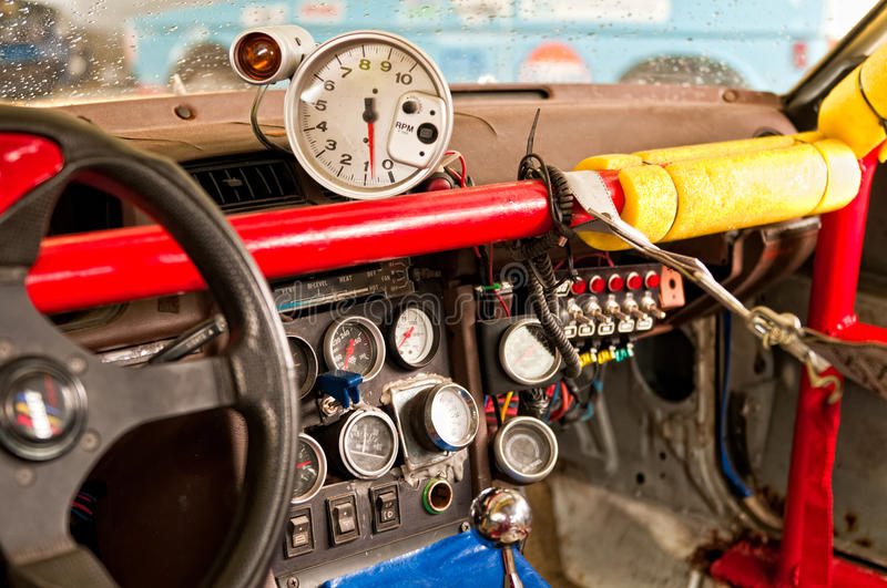 Download Old Cockpit stock image. Image of equipment, auto, interior - 15747203