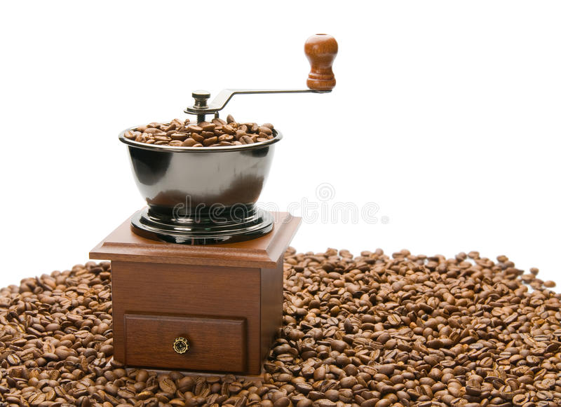 Download Old coffee grinder. stock image. Image of grain, retro - 22914637