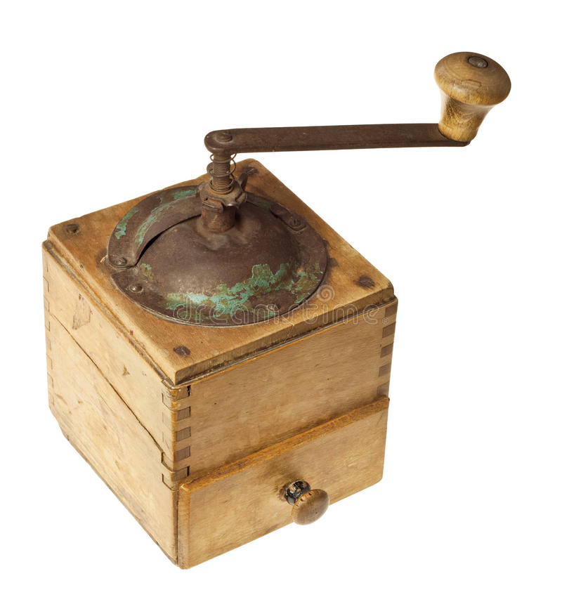 Free Old Coffee Grinder Royalty Free Stock Photo - 25241595