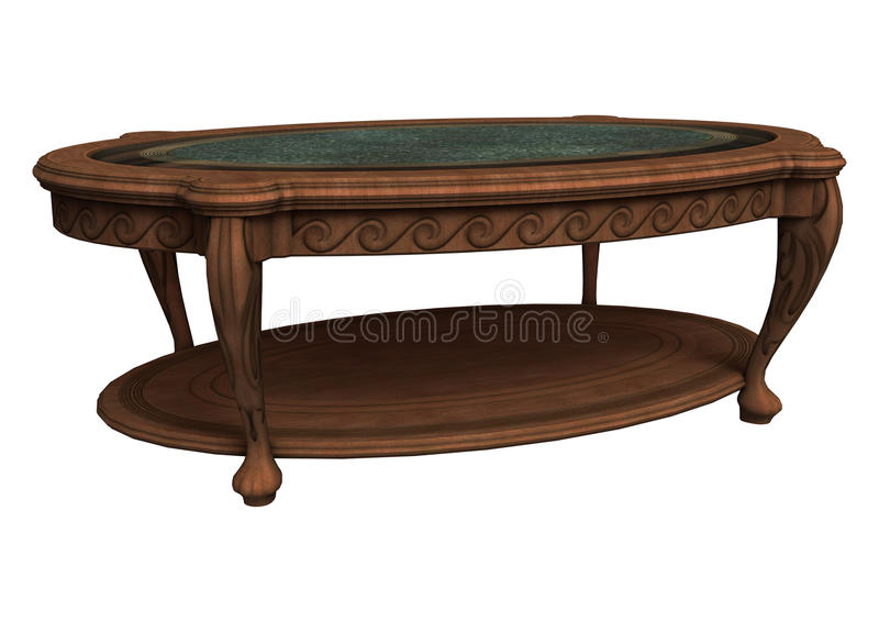 old coffee table stock image - image: 35157071