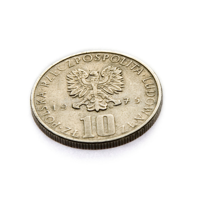 Old coin 3 royalty free stock image