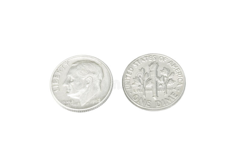 Old Coin Of US 1962 Royalty Free Stock Image