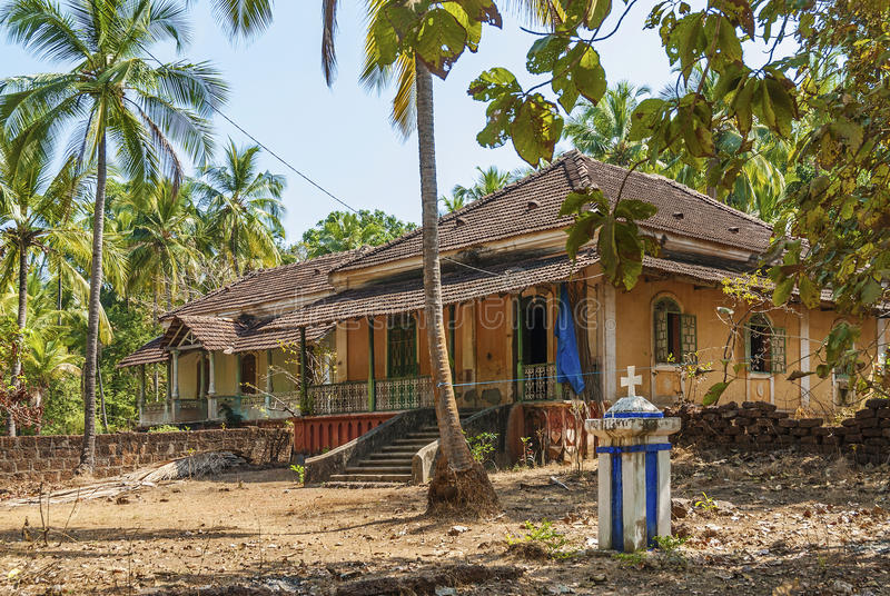 Download Old Colonial Houses In Goa India Editorial Photography
