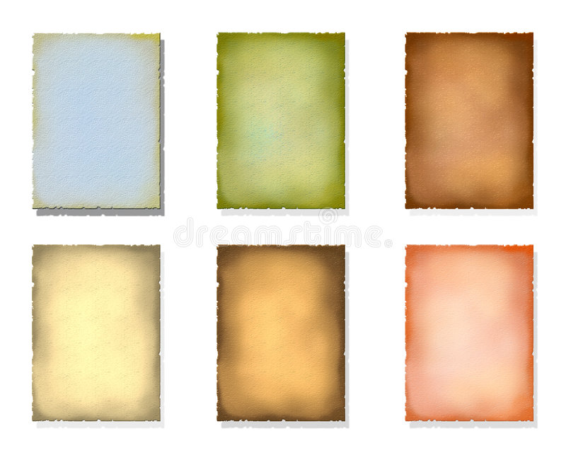 Old color paper royalty free stock images