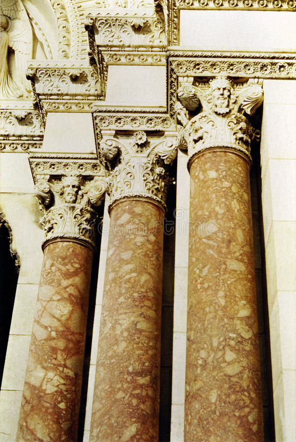 Download Old columns stock photo. Image of france, marble, marseilles - 559968