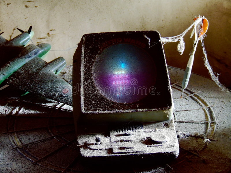 Download Old Computer Game Royalty Free Stock Image - Image: 8369636