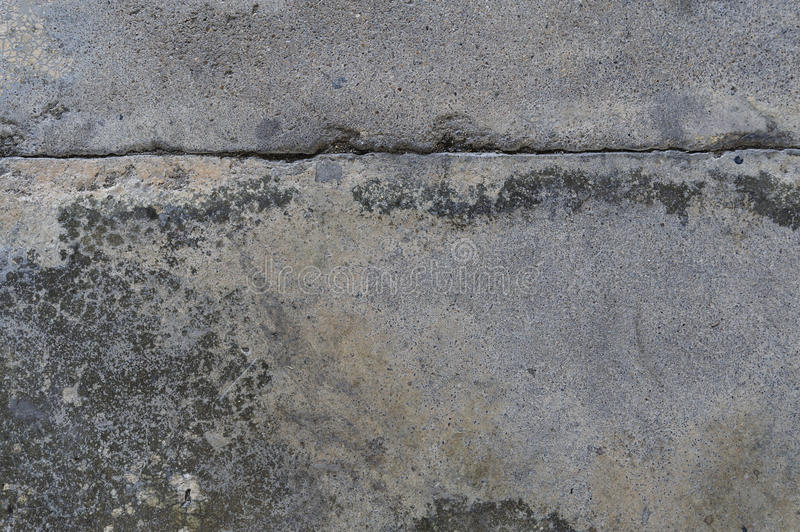 Old concrete floor. The old crack grey concrete floor background texture stock photo