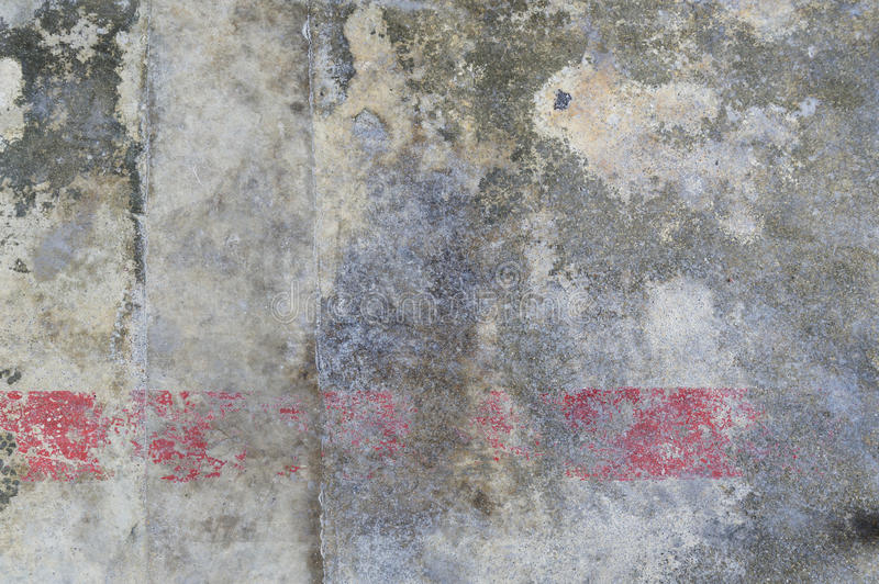 Old concrete floor. The old crack grey concrete floor background texture royalty free stock image