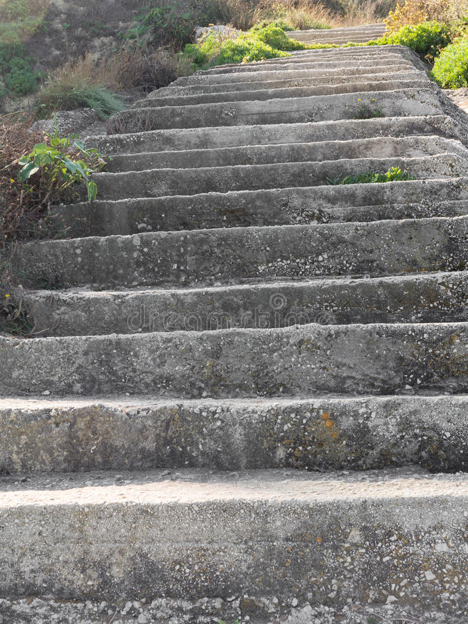 Download Old Concrete Steps On A Hill Side Stock Photo   Image: 43606049