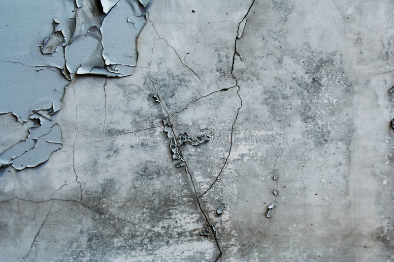 Old concrete wall. stock photography