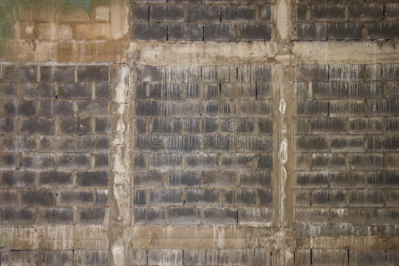 Old concrete wall texture. Old brick wall. Old warehouse wall. Abstract background royalty free stock photo
