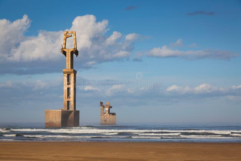 Download Old Construction Marina Of Sidi Ifni Stock Photo - Image: 83716272