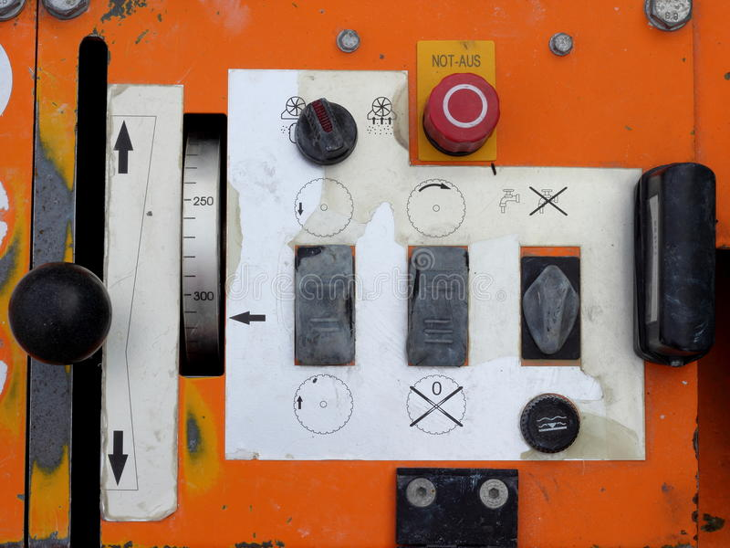 Old control panel