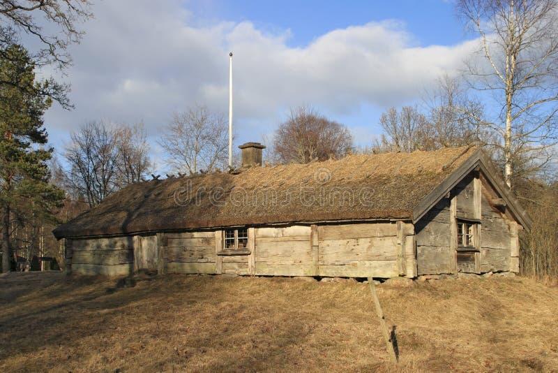 Download Old cottage stock image. Image of cabin, scandinavia, garden - 1210729