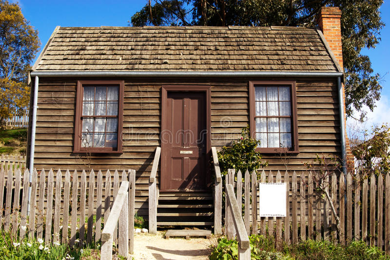 Old cottage royalty free stock image