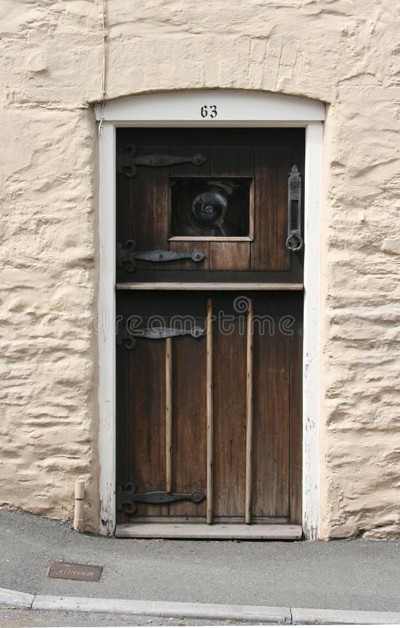 Old Cottage Door Free Stock Images