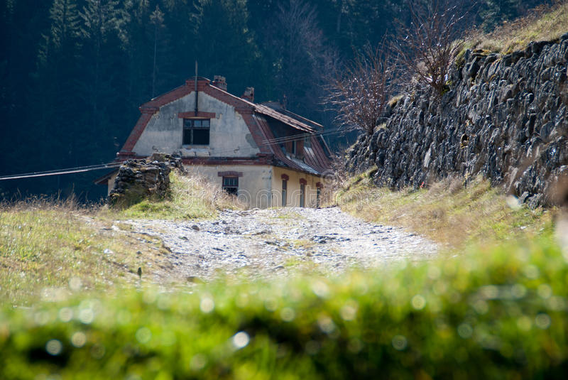Download Old cottage stock photo. Image of structure, small, wood - 34606146