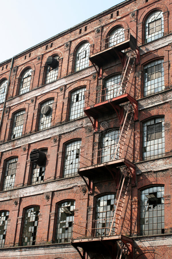 Download Old Cotton Factory In Europe 2 Stock Photo - Image: 103874