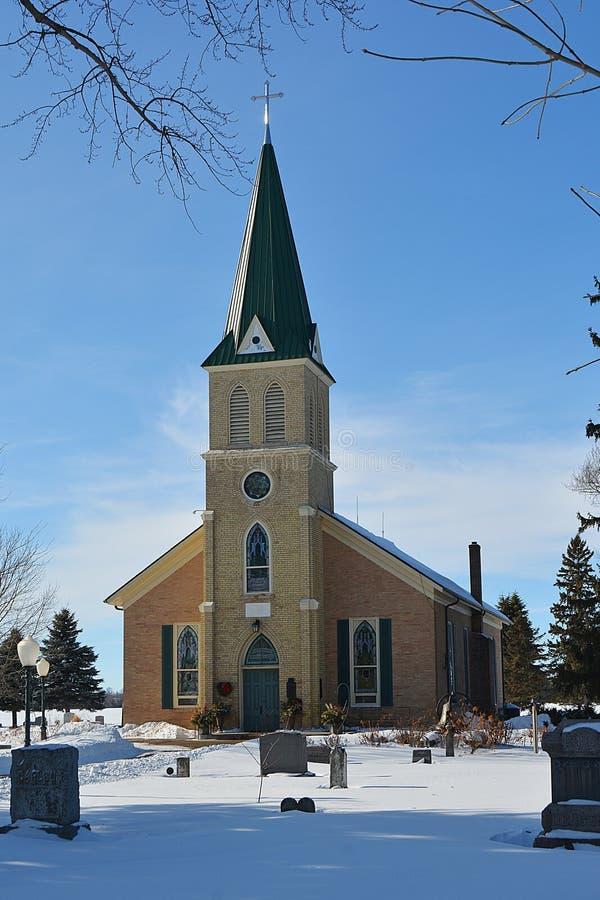 Old Country Church 5 stock photos