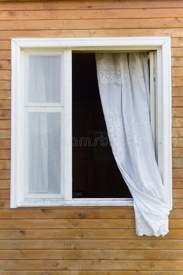 Download Old country-style window stock image. Image of country - 6509773