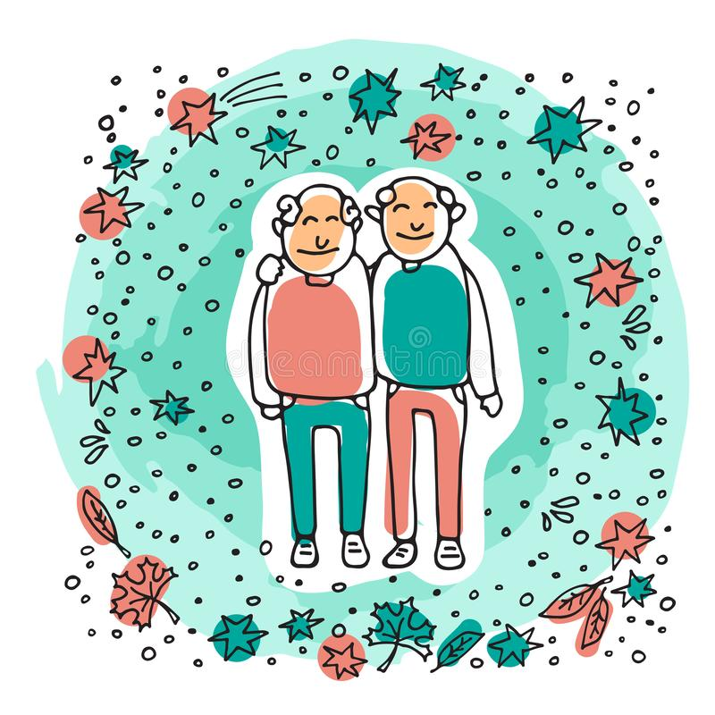 Free Old Couple-11 Royalty Free Stock Photography - 140344677