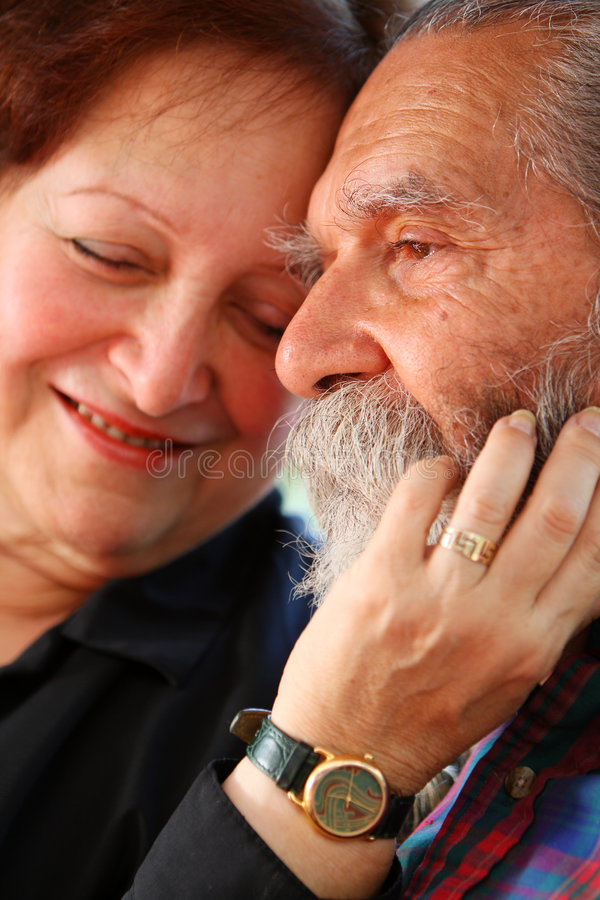 Free Old Couple Royalty Free Stock Image - 3317706