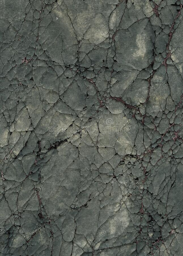 Old cracked canvas with grunge and threads showing royalty free stock image
